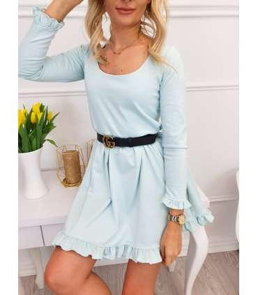 LL447 Sukienka Aniela Mint