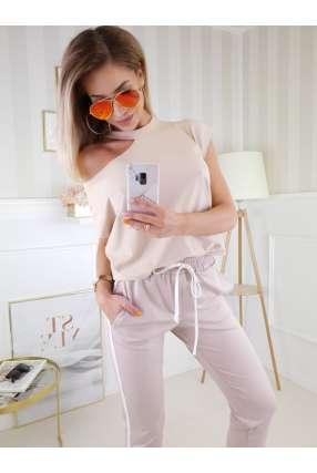 S510 Spódnica Jeans White