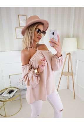 SM570 Sukienka Wieczorowa ALISSA Baby Pink
