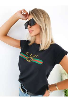 MF861 Sukienka Summer Plisy Maxi Black