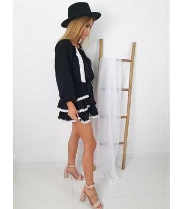 LP579 Sukienka Hiszpanka Kelly Black