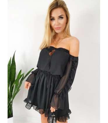 LP521 Sukienka INESS Black