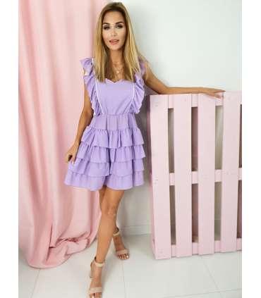 MY565 Sukienka Judie Lilac Peas