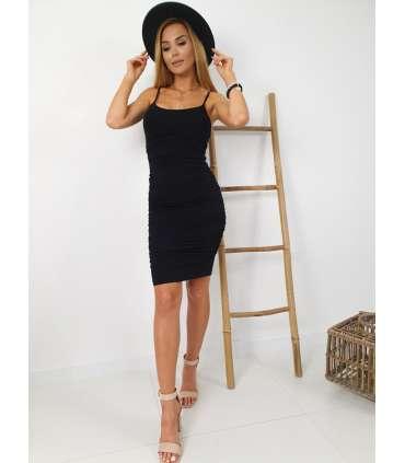 LL510 Sukienka Basic Marla Black