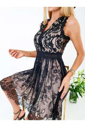 copy of S147 Sukienka Lace Lucy Black