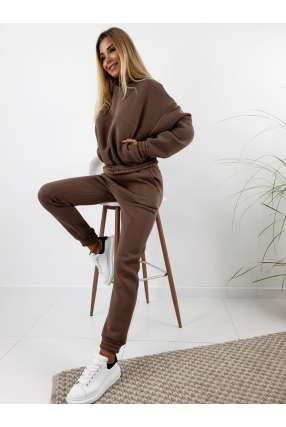 copy of LL36 Spodnie dresowe z lampasem Camel