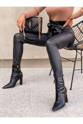 copy of LL18 Spodnie Bow Black Leather