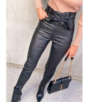copy of LL93 Spodnie Elegant Black Leather