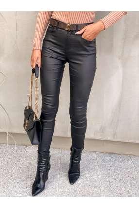 S167 Spodnie Woskowane  Black